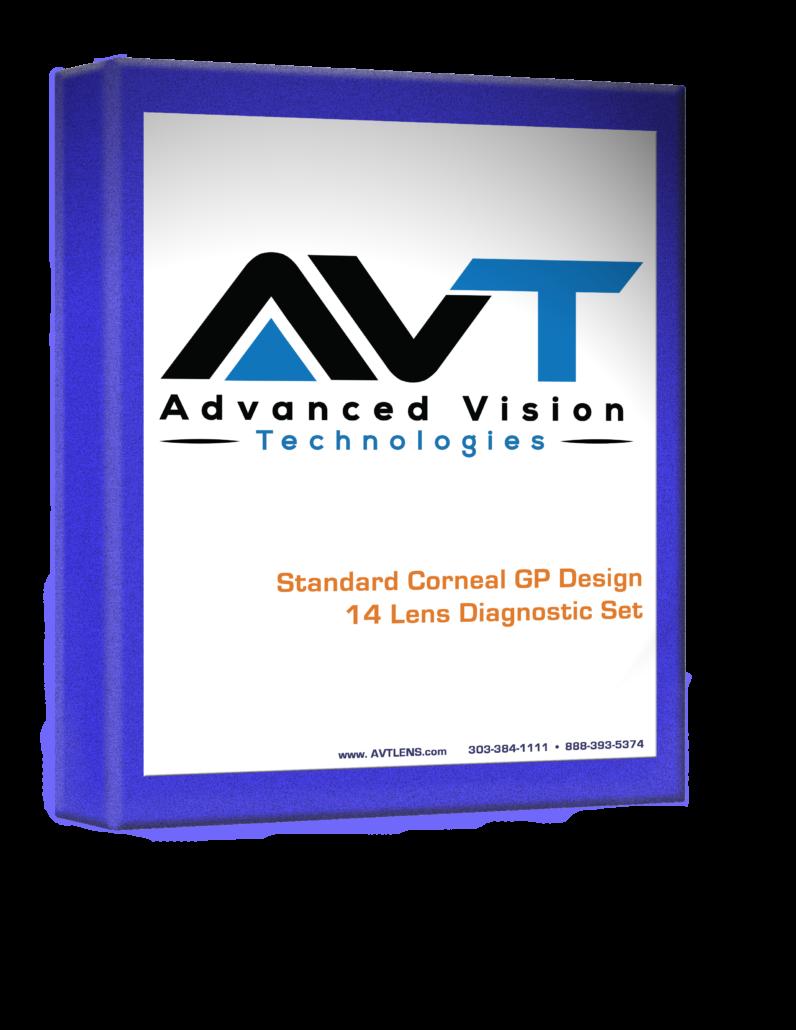 AVT Standard Corneal GP Design Fitting Set Book