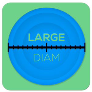 Large Diam Icon