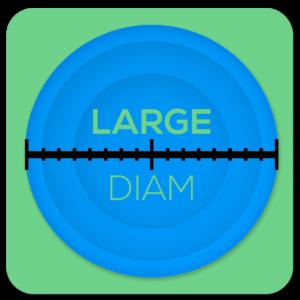 Large Diam Icon
